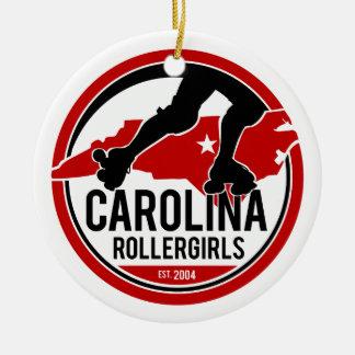 Ornamento del día de fiesta de Carolina