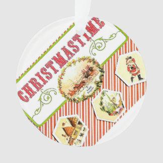 Ornamento del día de fiesta de Christmastime