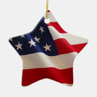 Ornamento del Día de la Independencia Adorno De Cerámica En Forma De Estrella