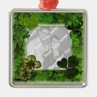 Adorno Metálico Ornamento del día de St Patrick de la foto
