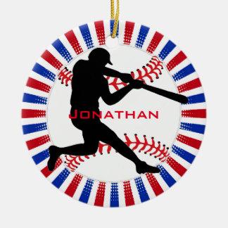 Ornamento del diseño del béisbol