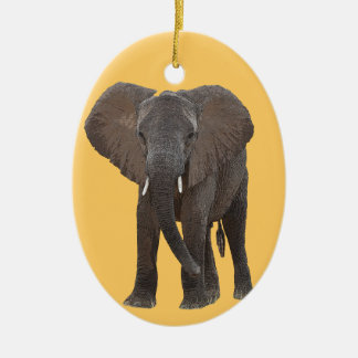 Ornamento del elefante africano adornos de navidad