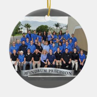 Ornamento del equipo 2014 de Mindrum Adorno Navideño Redondo De Cerámica