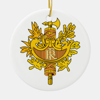 Ornamento del escudo de armas de Francia Adorno Para Reyes