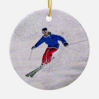 Ornamento del esquí