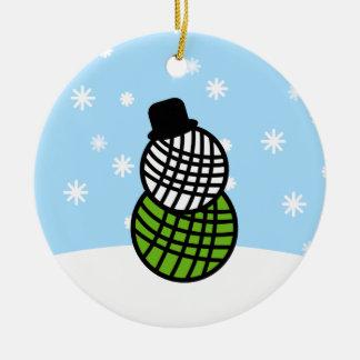 Ornamento del ganchillo del punto del navidad del adornos