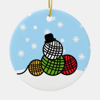 Ornamento del ganchillo del punto del navidad del ornamente de reyes