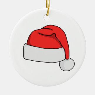 Ornamento del gorra de Santa