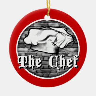 Ornamento del gorra del cocinero
