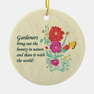 Ornamento del jardinero