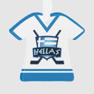 Ornamento del logotipo de Grecia Hélade del jersey