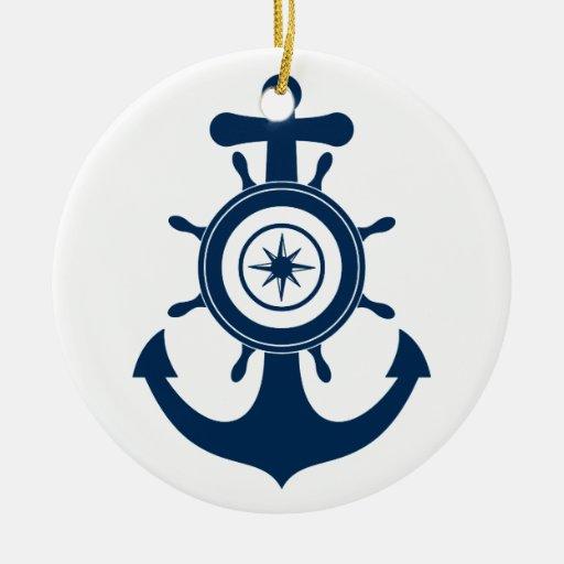 Ornamento del marinero del ancla adornos