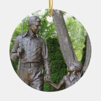 Ornamento del navidad de Andy Griffith