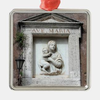 Ornamento del navidad de avenida Maria