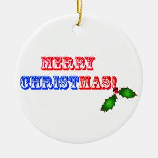 Ornamento del navidad de Cristo Adorno Navideño Redondo De Cerámica
