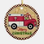 Ornamento del navidad de EMT Ornamentos De Navidad