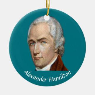 Ornamento del navidad de Hamilton Adorno Navideño Redondo De Cerámica