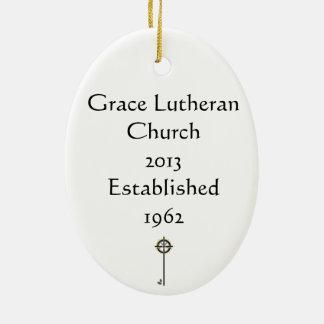 Ornamento del navidad de la iglesia luterana 2013  ornamento para reyes magos
