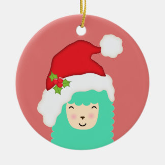 Ornamento del navidad de la llama del día de
