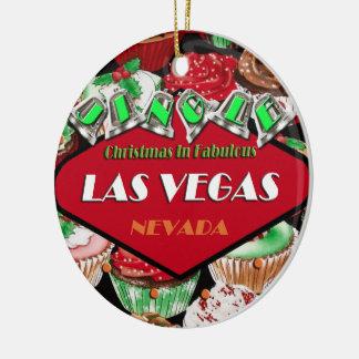 Ornamento del navidad de la magdalena de Las Vegas Ornamento Para Arbol De Navidad