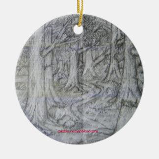 Ornamento del navidad de la naturaleza del lápiz d adorno de navidad