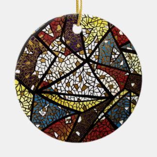 Ornamento del navidad de la paloma de la paz