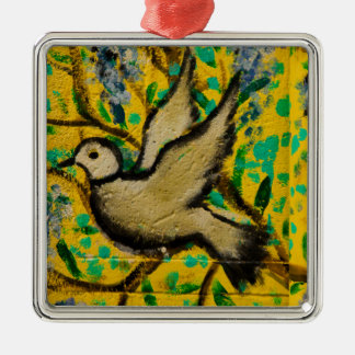 Ornamento del navidad de la paloma de la paz de adorno de navidad