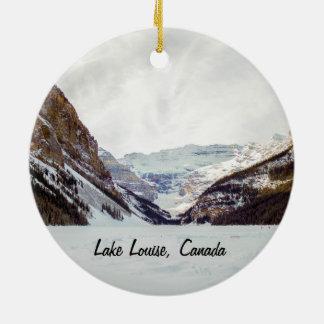 Ornamento del navidad de Lake Louise