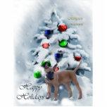 Ornamento del navidad de Malinois del belga Escultura Fotografica