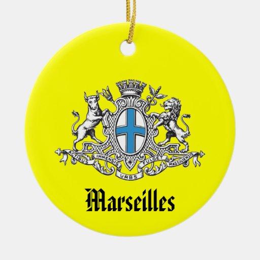 Ornamento del navidad de Marseilles* Francia Ornamento Para Reyes Magos
