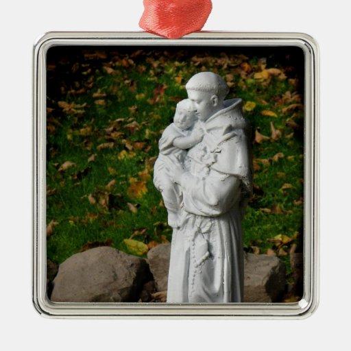 Ornamento del navidad de St Anthony Ornamento De Reyes Magos