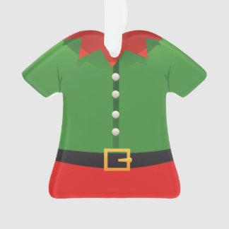 Ornamento del navidad del ayudante de Santa