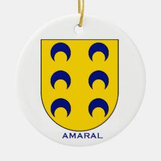 Ornamento del navidad del escudo de armas de la