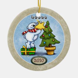 Ornamento del navidad del la del la del la del Fa Ornaments Para Arbol De Navidad