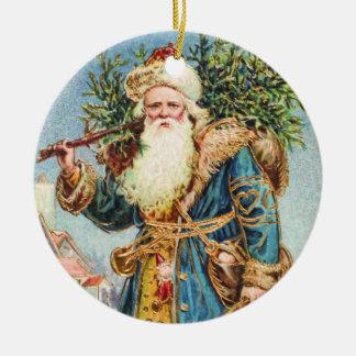 Ornamento del navidad del padre del Victorian Adorno Navideño Redondo De Cerámica