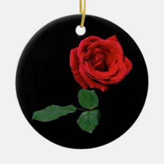 Ornamento del navidad del rosa rojo ornamentos de navidad