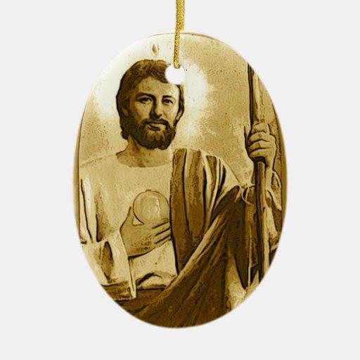 Ornamento del navidad del St. Jude Ornamentos De Reyes