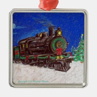 Ornamento del navidad del tren