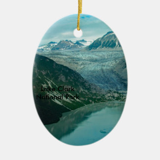 Ornamento del parque nacional de Clark del lago