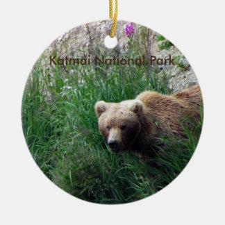 Ornamento del parque nacional de Katmai