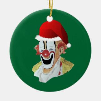 Ornamento del payaso de Santa Adornos De Navidad