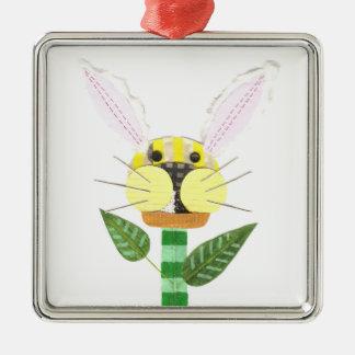 Ornamento del premio de la flor del conejito
