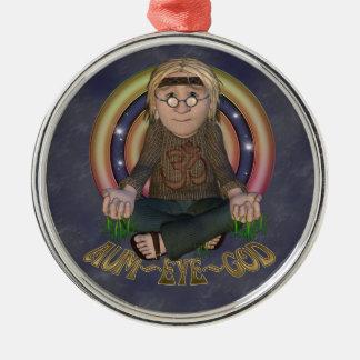 Ornamento del premio del hippy de OMG Ornamentos Para Reyes Magos