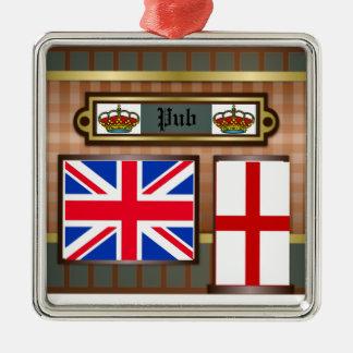 Ornamento del Pub de Londres de la decoración de
