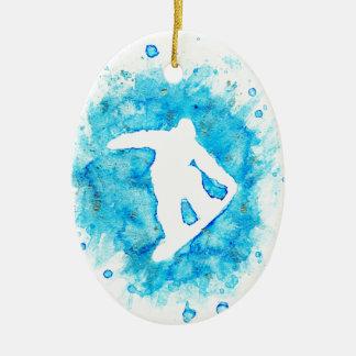 Ornamento del Snowboarder