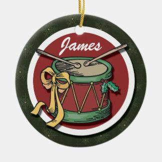 Ornamento del tambor del navidad