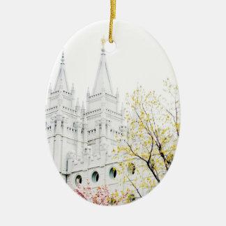 Ornamento del templo de Salt Lake Adornos De Navidad