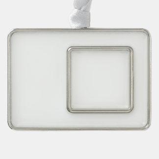 Ornamento enmarcado personalizado - horizontal adorno con marco