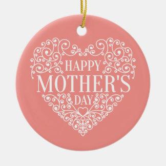 Ornamento feliz caprichoso del día de madre el |