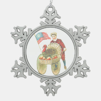 Ornamento feliz patriótico del estaño de la acción adornos